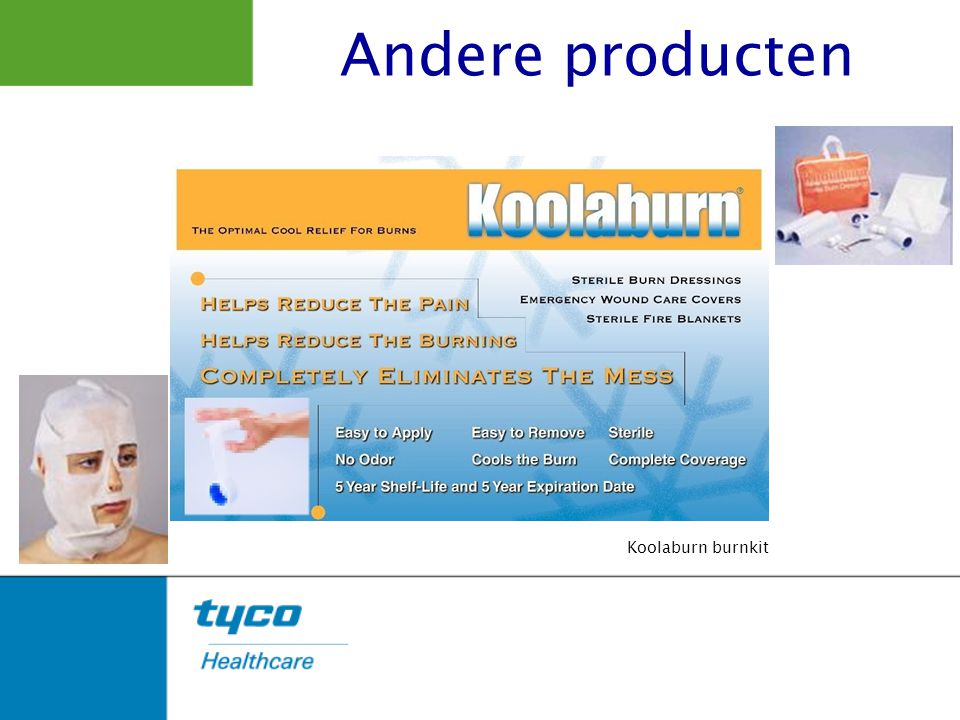 Andere producten Koolaburn burnkit
