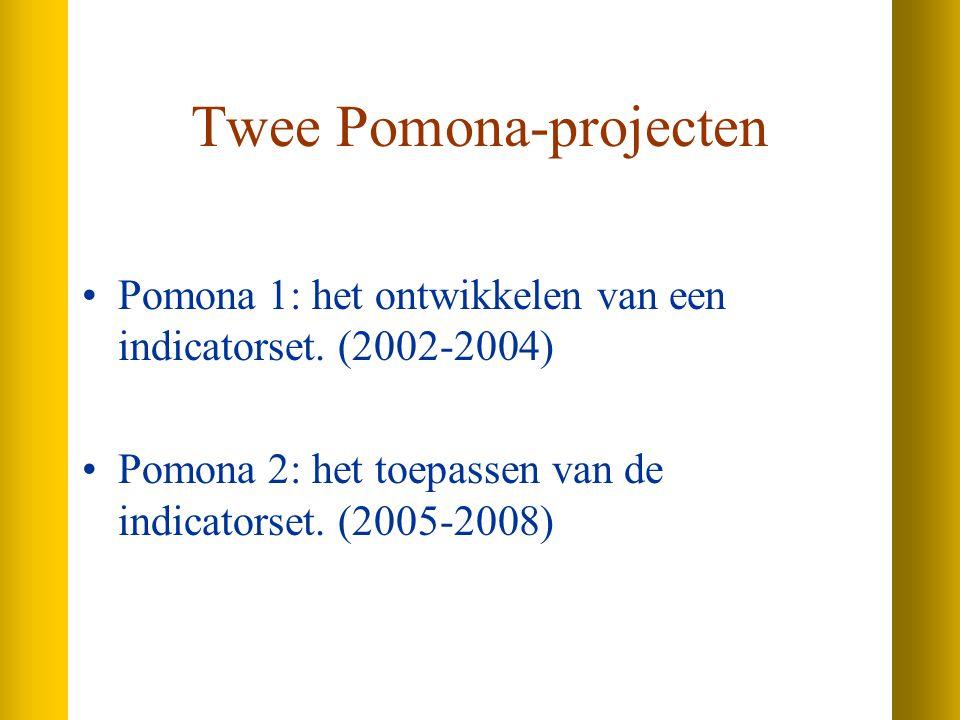 Twee Pomona-projecten