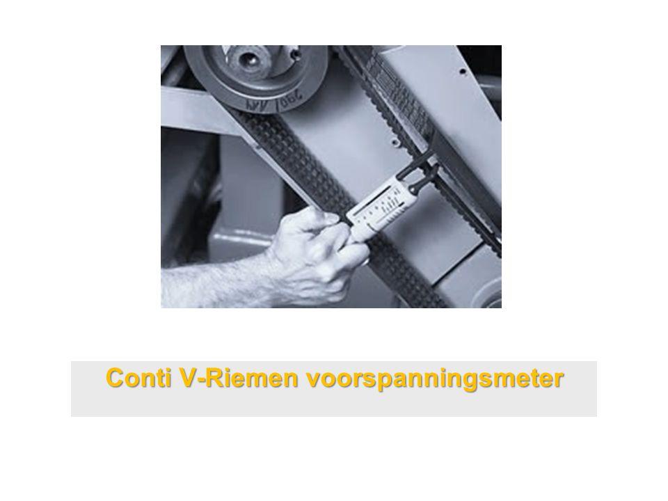 Conti V-Riemen voorspanningsmeter