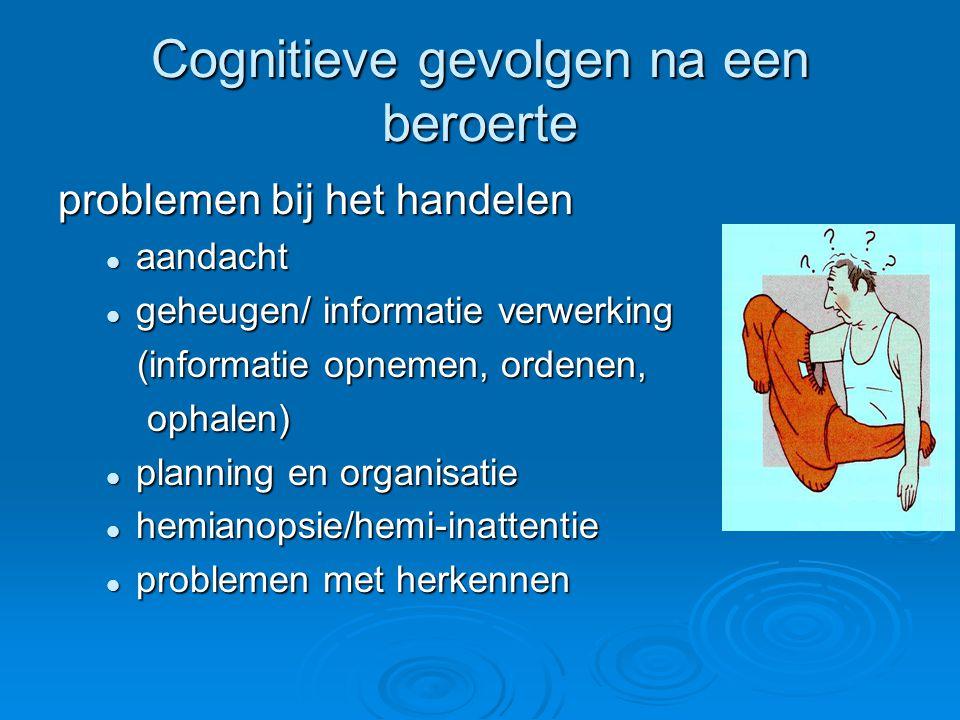 Cognitieve gevolgen na een beroerte