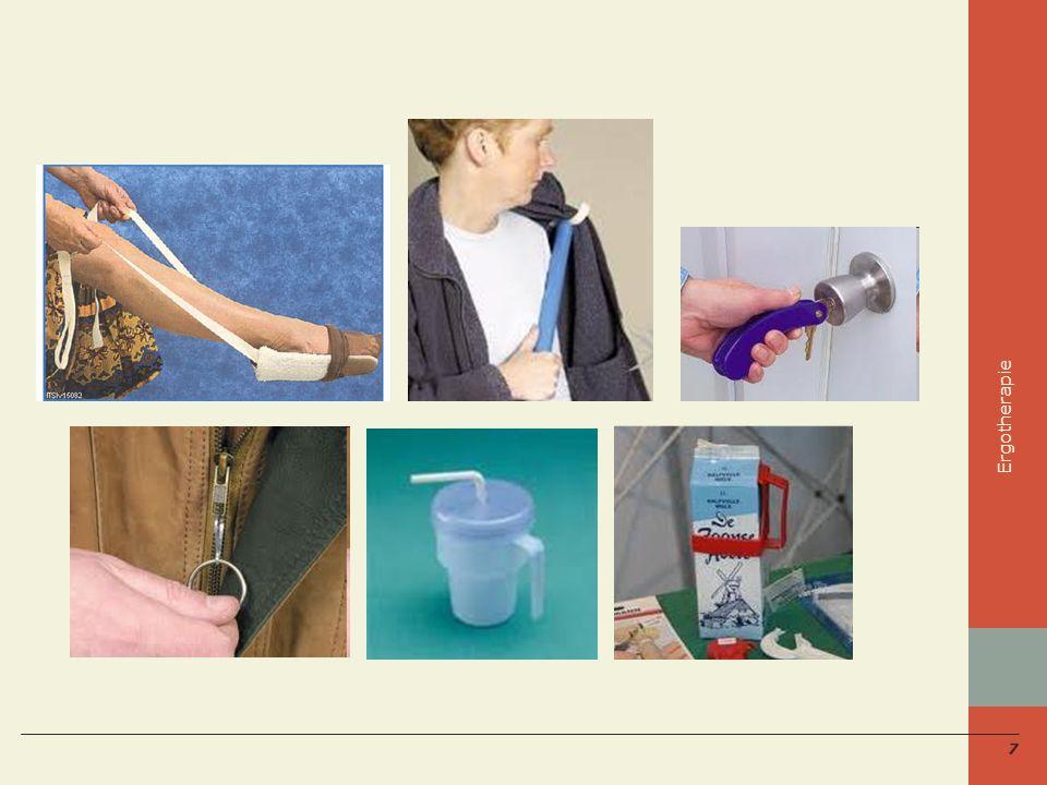 Ergotherapie Zet je naam, functie en telefoonnummer in het zorgdossier!