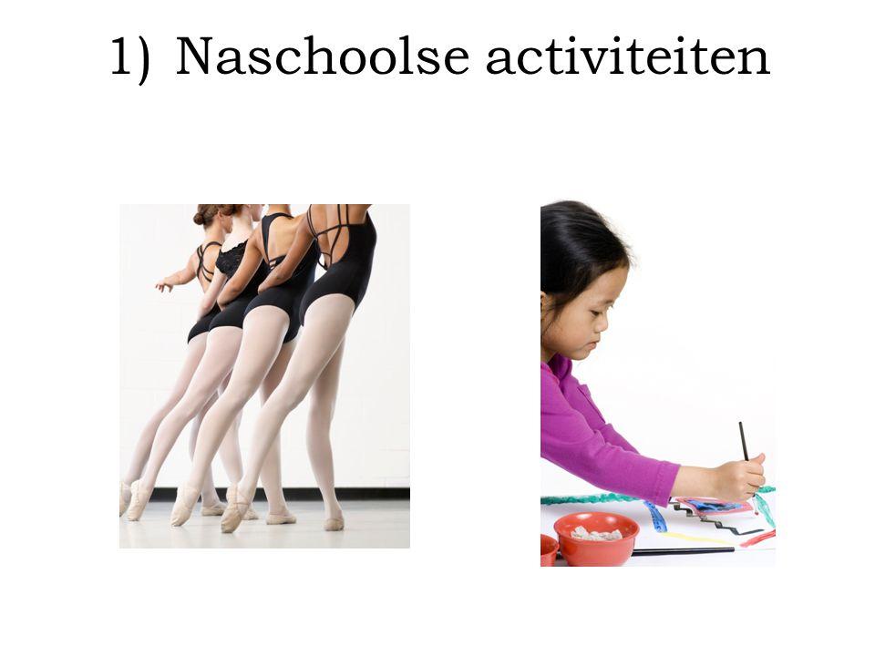 Naschoolse activiteiten