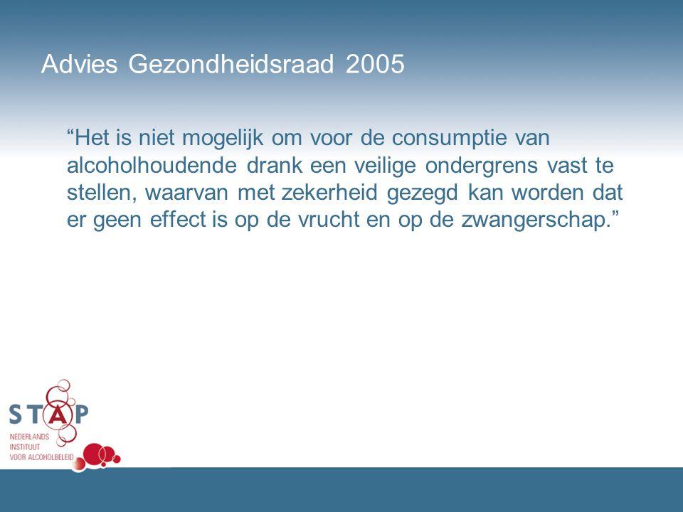 Advies Gezondheidsraad 2005