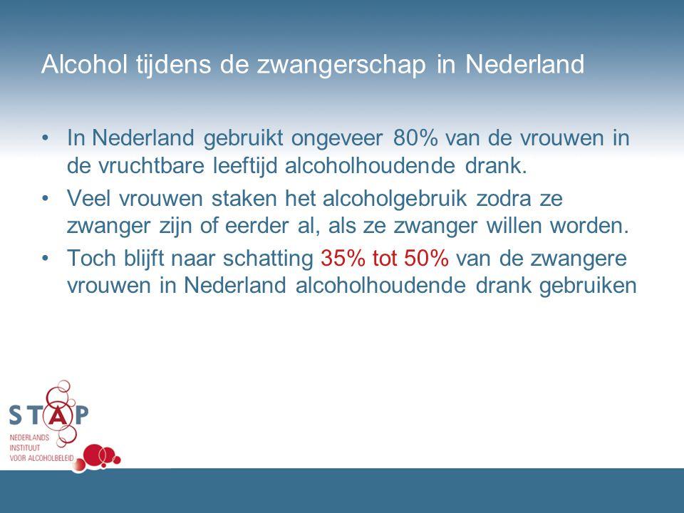 Alcohol tijdens de zwangerschap in Nederland