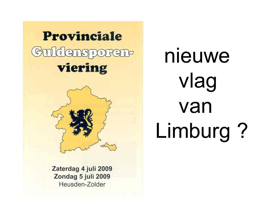 nieuwe vlag van Limburg