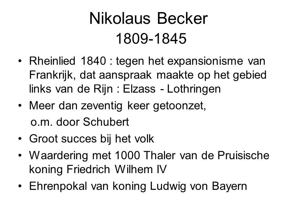Nikolaus Becker 1809-1845