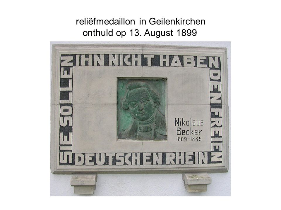 reliëfmedaillon in Geilenkirchen