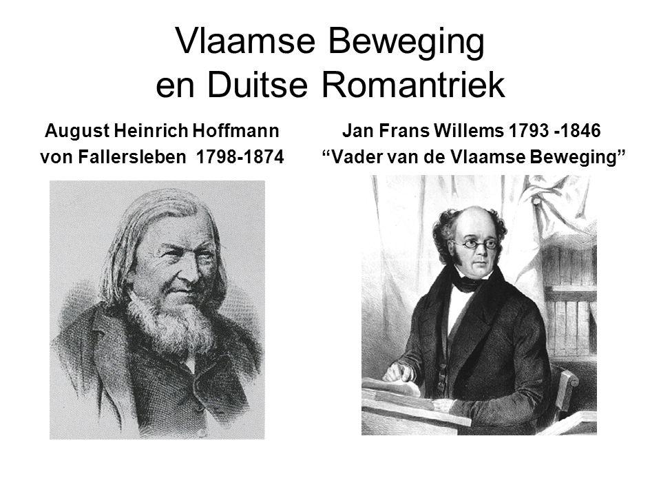 Vlaamse Beweging en Duitse Romantriek