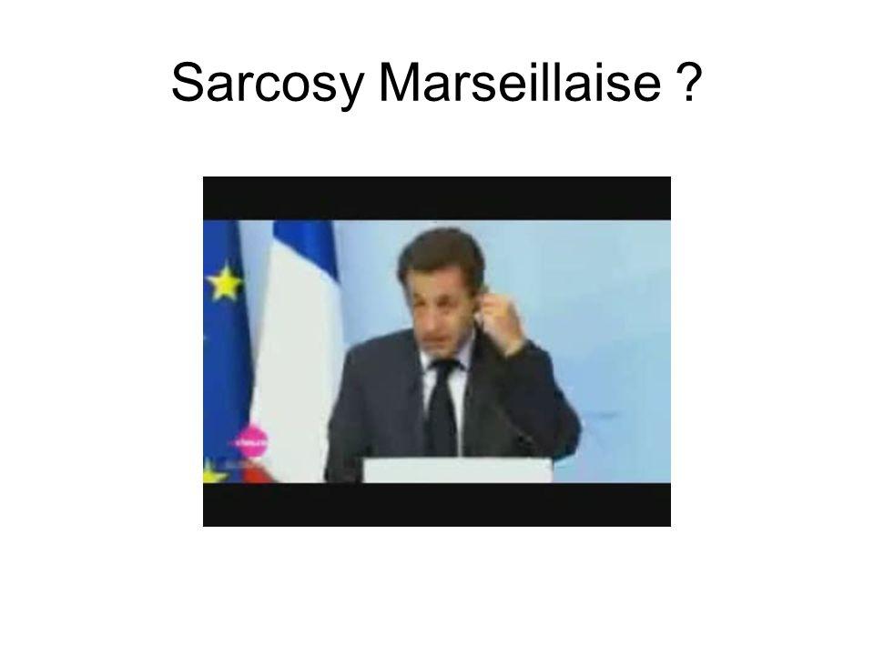 Sarcosy Marseillaise