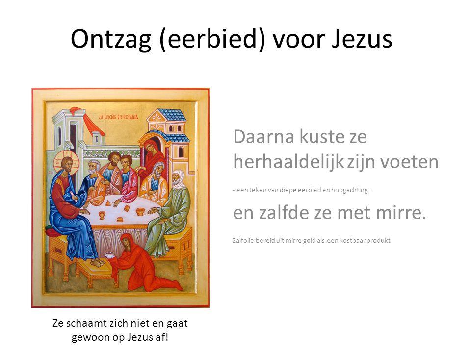 Ontzag (eerbied) voor Jezus