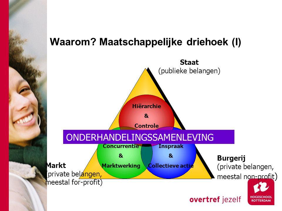 Waarom Maatschappelijke driehoek (I)