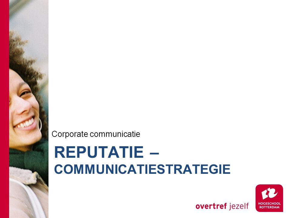 RePUTATIE – communicatiestrategie