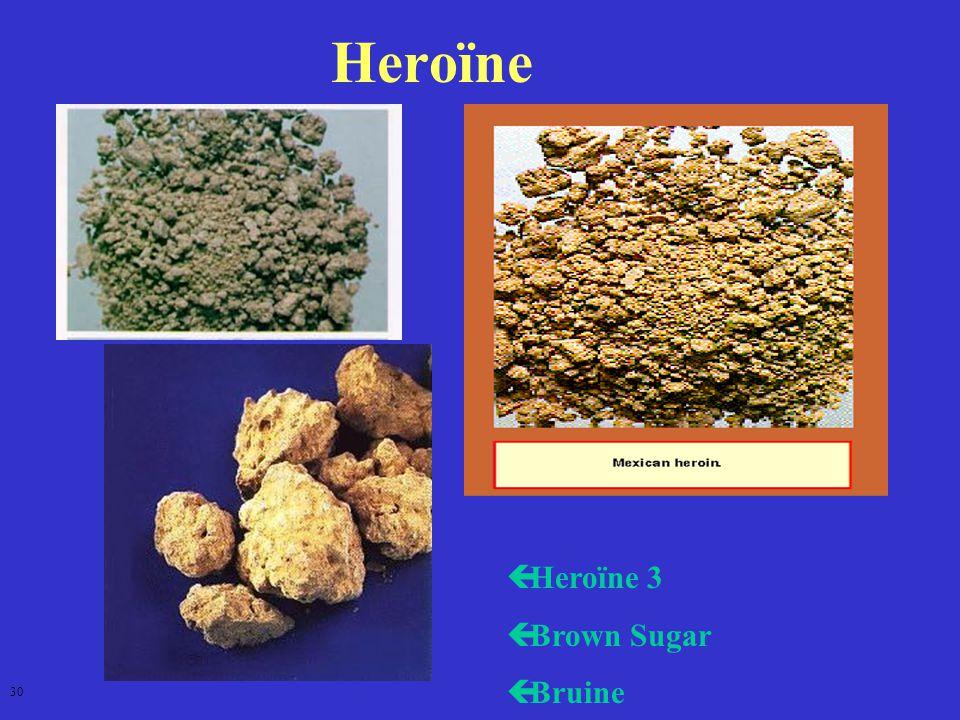 Heroïne Heroïne 3 Brown Sugar Bruine 30