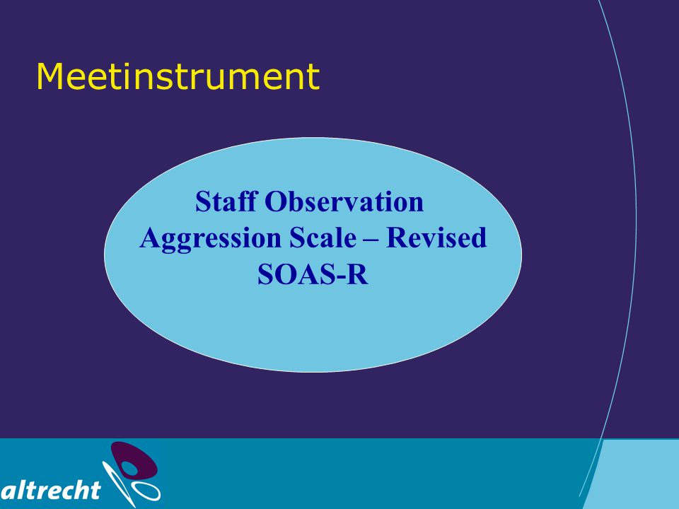 Aggression Scale – Revised