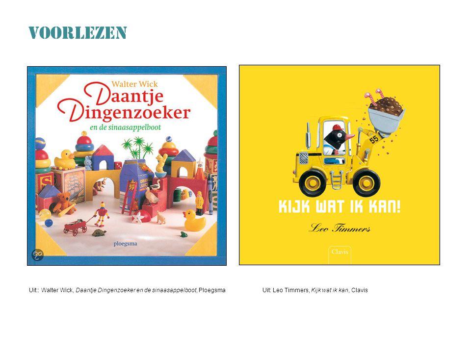 VOORLEZEN Uit:: Walter Wick, Daantje Dingenzoeker en de sinaasappelboot, Ploegsma.