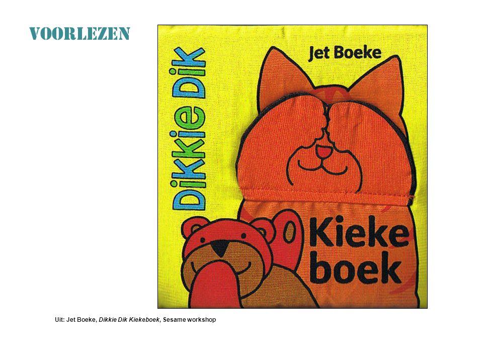 VOORLEZEN Uit: Jet Boeke, Dikkie Dik Kiekeboek, Sesame workshop