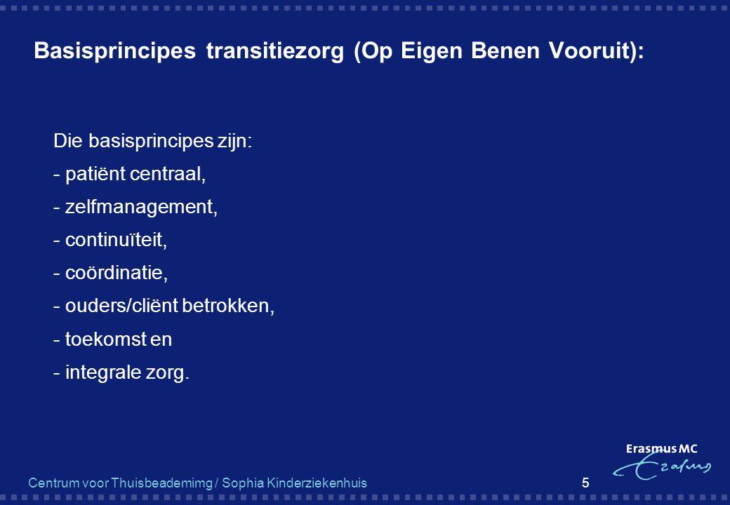 Basisprincipes transitiezorg (Op Eigen Benen Vooruit):