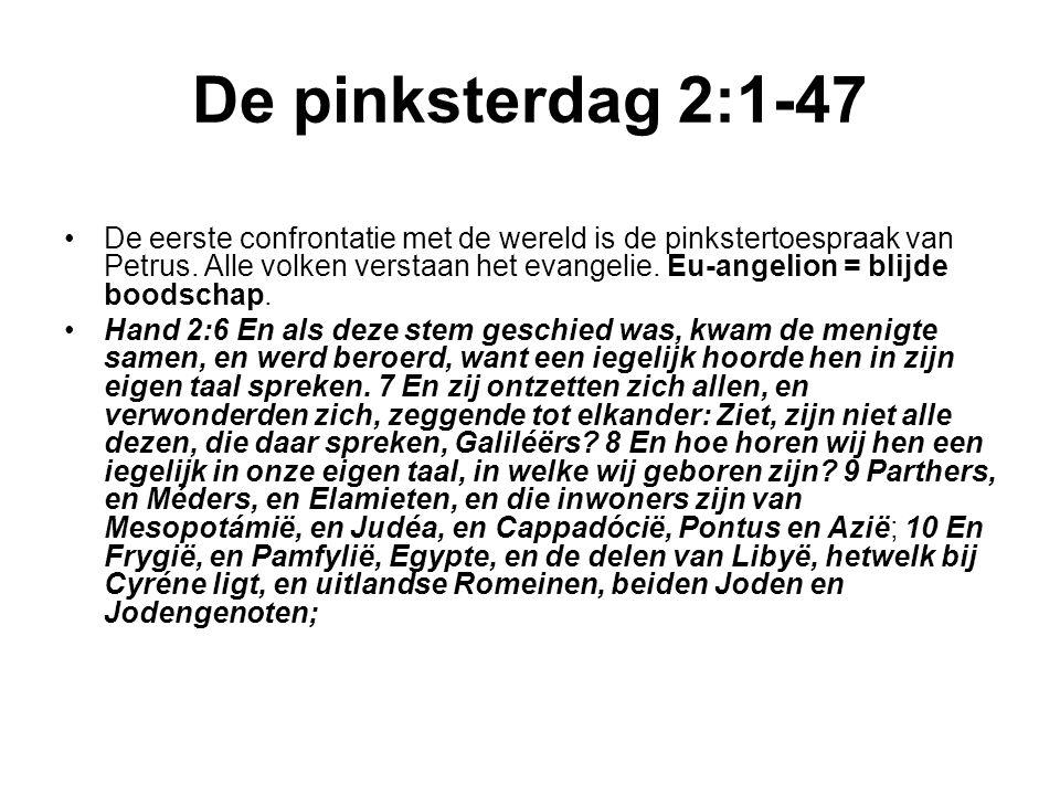 De pinksterdag 2:1-47