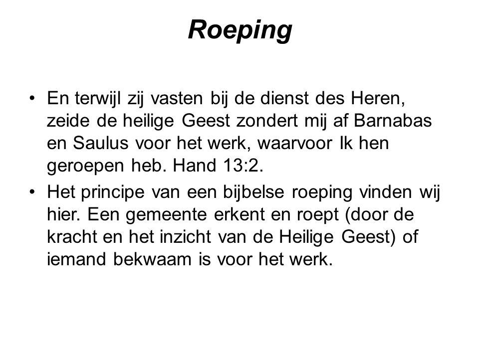 Roeping