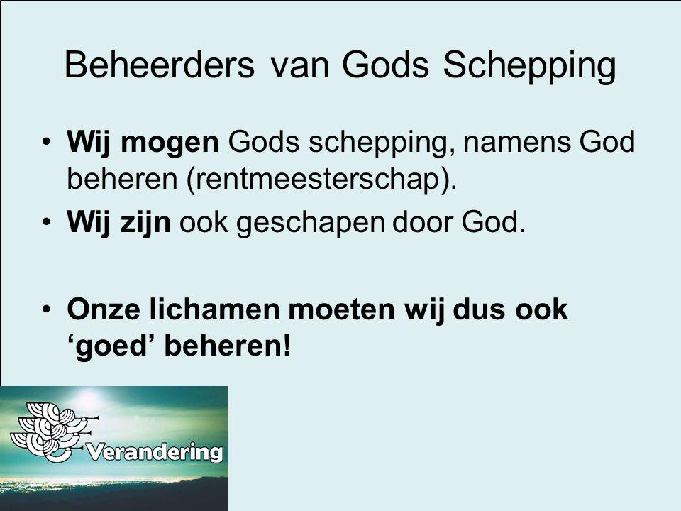 Beheerders van Gods Schepping
