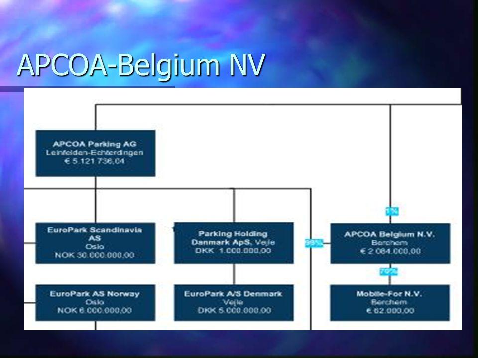 APCOA-Belgium NV