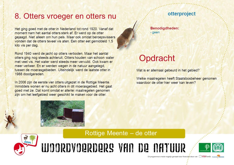 Rottige Meente – de otter