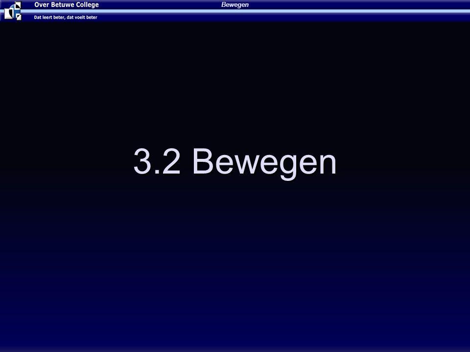 Bewegen 4-4-2017 3.2 Bewegen (c) Ing. W.Tomassen