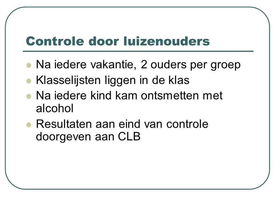 Controle door luizenouders