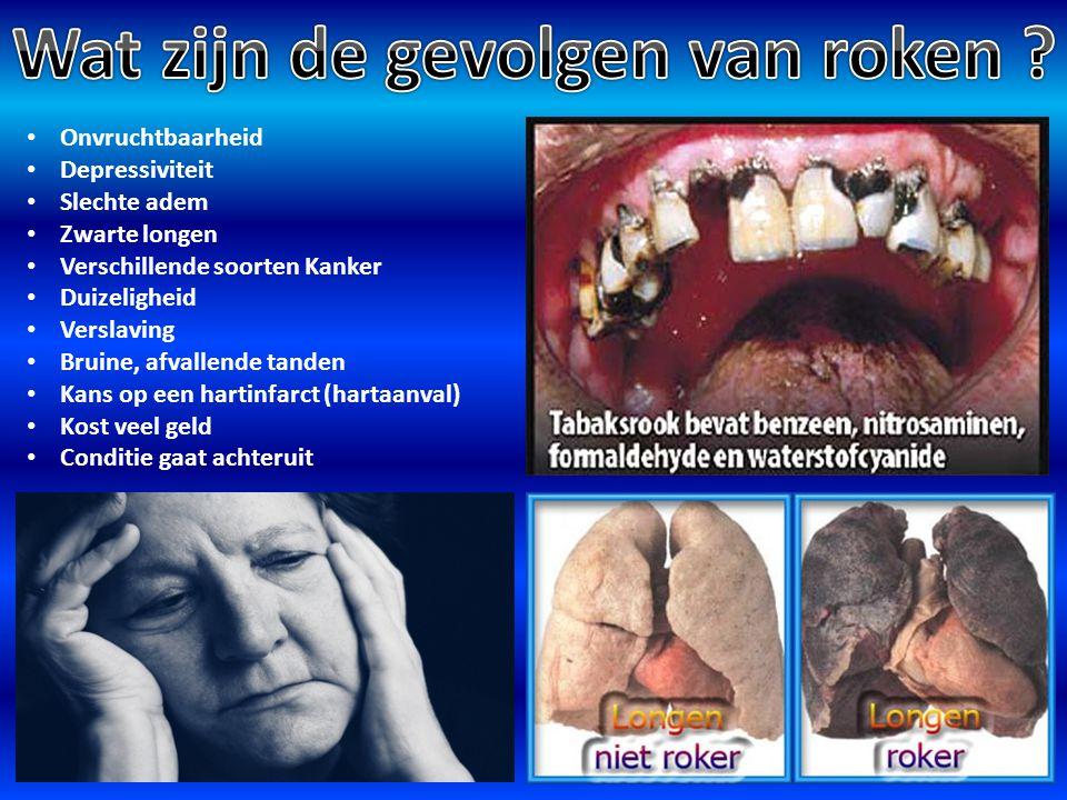 Wat zijn de gevolgen van roken