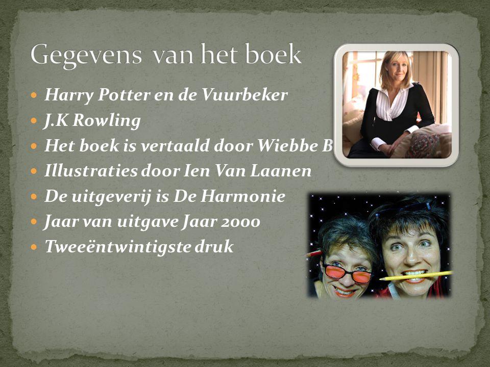 Gegevens van het boek Harry Potter en de Vuurbeker J.K Rowling