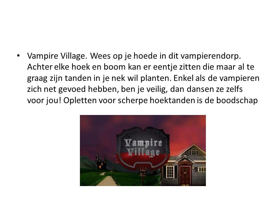 Vampire Village. Wees op je hoede in dit vampierendorp