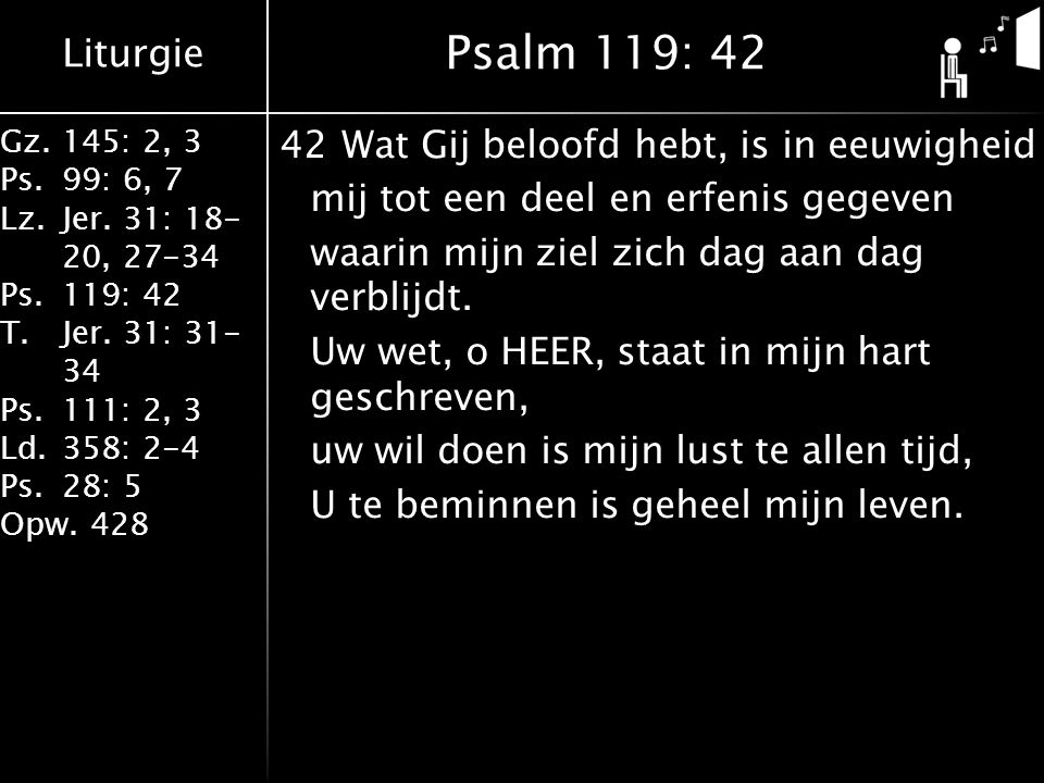 Psalm 119: 42