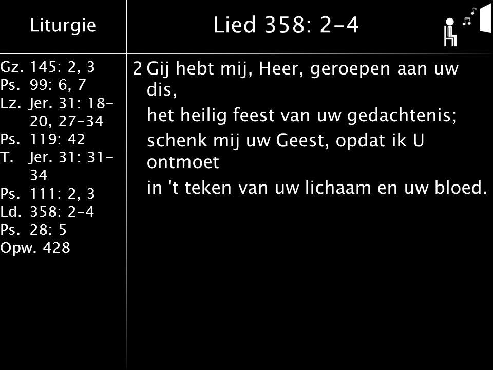 Lied 358: 2-4