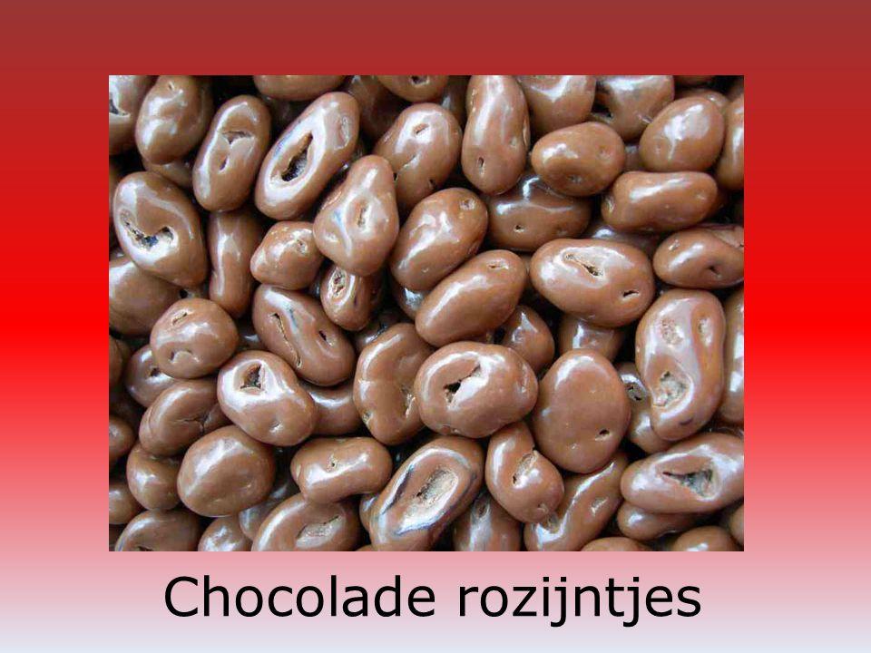 Chocolade rozijntjes