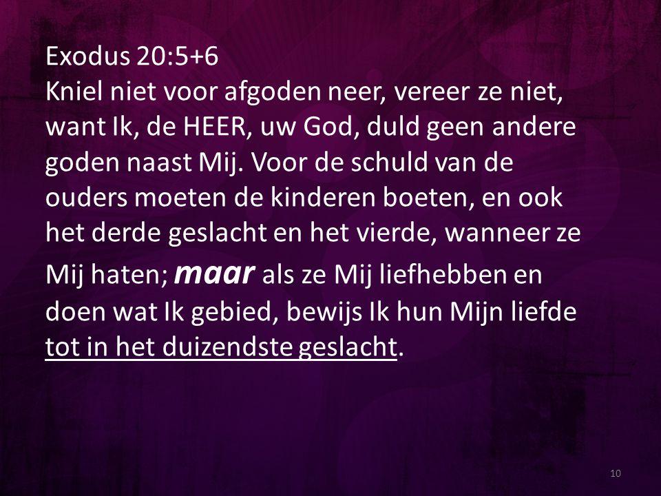 Exodus 20:5+6