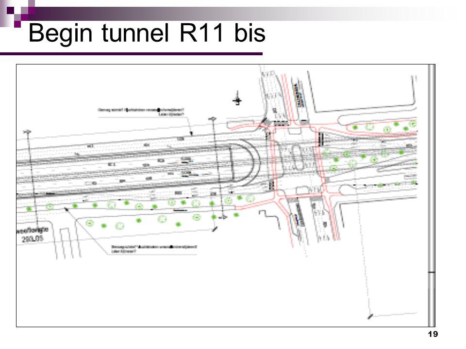 Begin tunnel R11 bis
