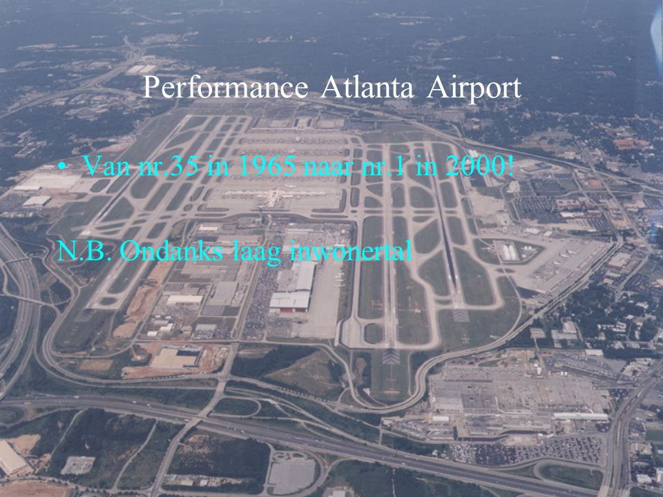 Performance Atlanta Airport