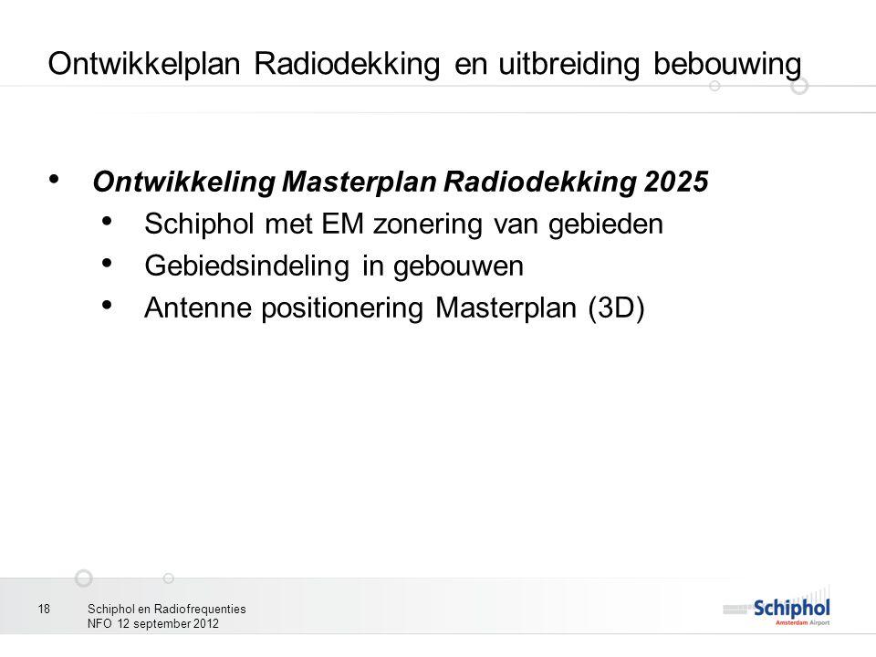 Ontwikkelplan Radiodekking en uitbreiding bebouwing