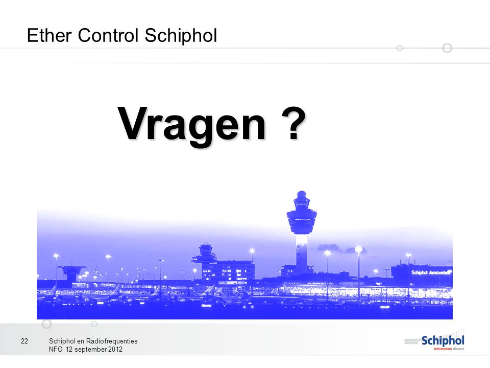 Ether Control Schiphol