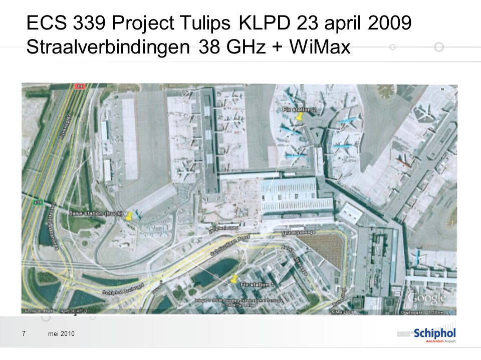 ECS 339 Project Tulips KLPD 23 april 2009 Straalverbindingen 38 GHz + WiMax