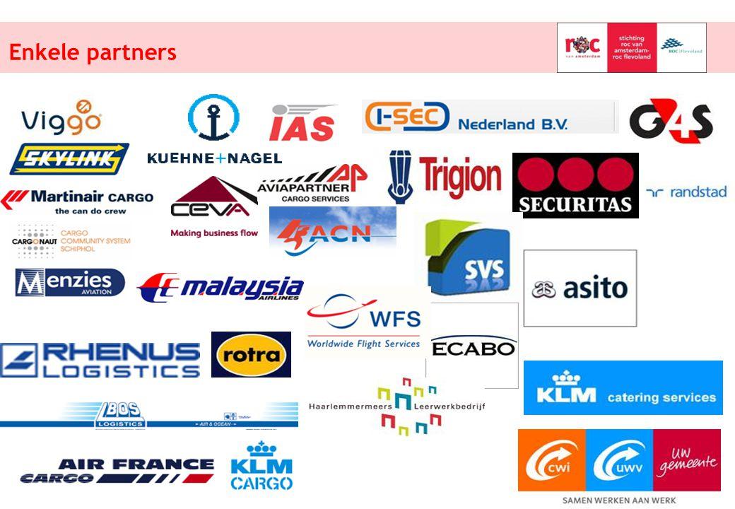Enkele partners Schiphol College, werken en leren op de luchthaven!