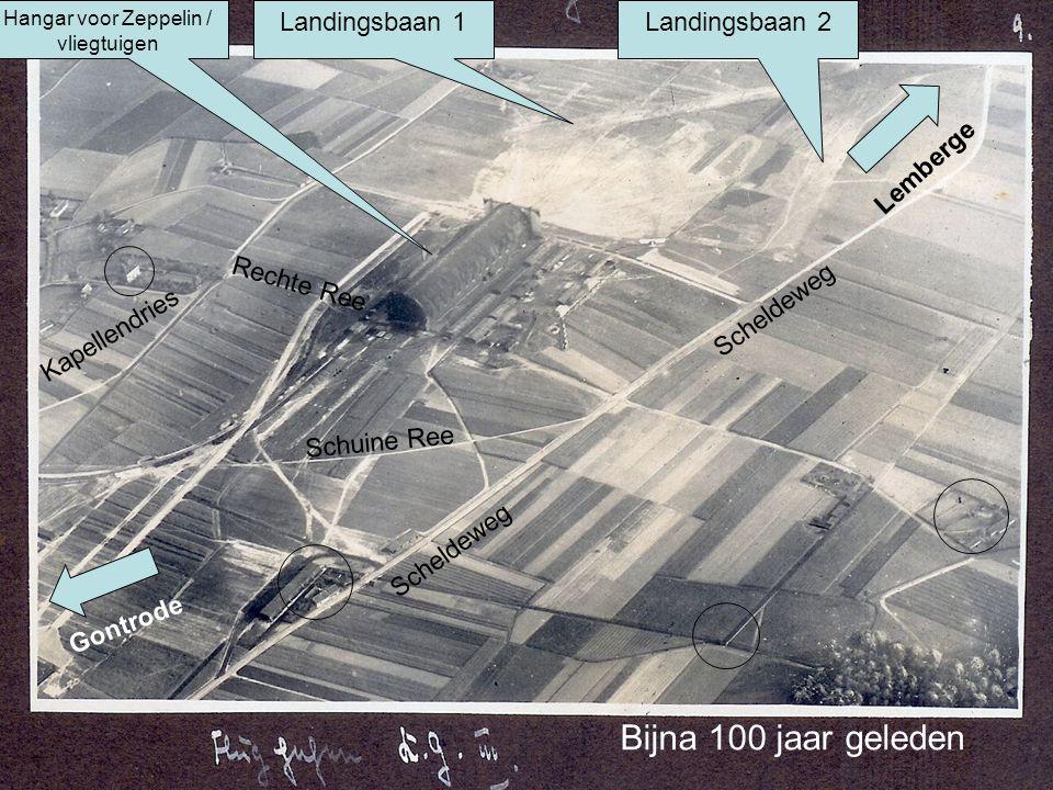 Hangar voor Zeppelin / vliegtuigen