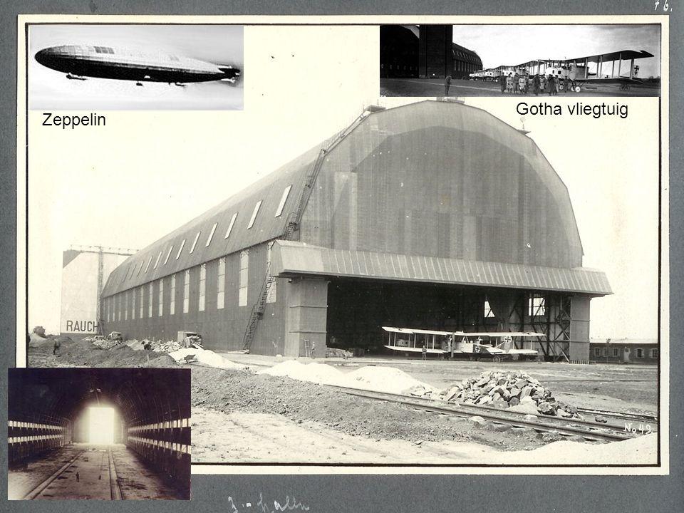 Gotha vliegtuig Zeppelin