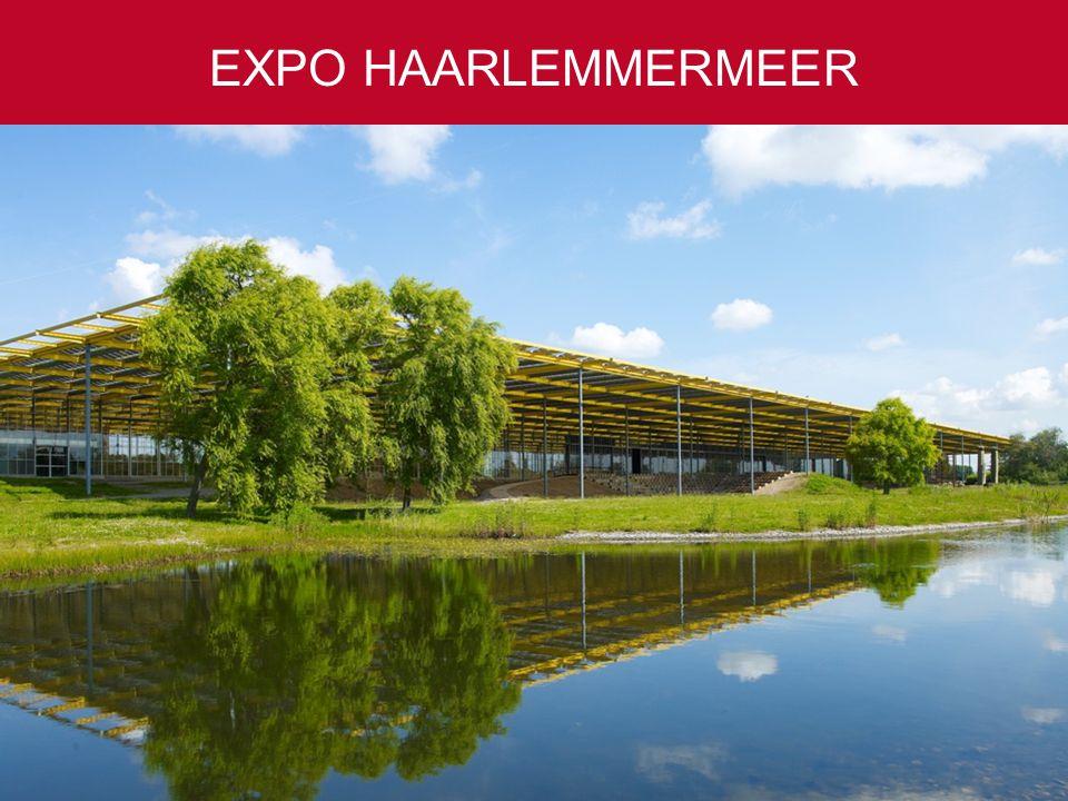 EXPO HAARLEMMERMEER 50 tot 10.000 gasten Ruim 4.000 parkeerplaatsen