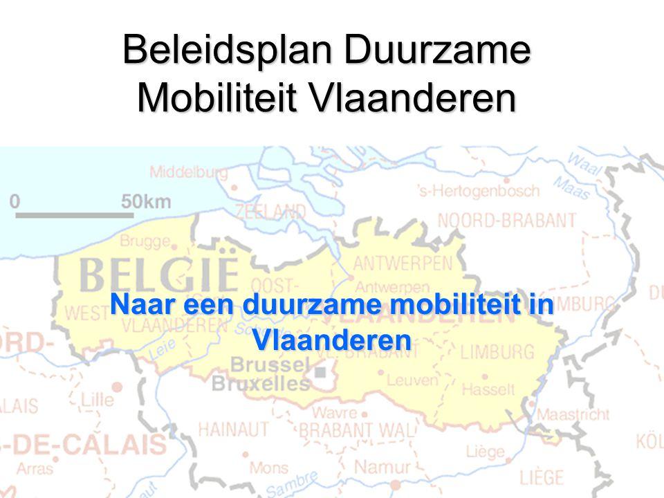 Beleidsplan Duurzame Mobiliteit Vlaanderen