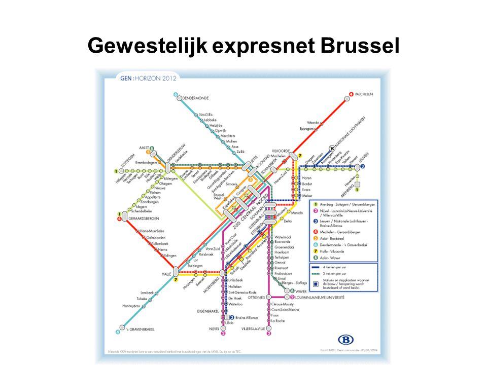 Gewestelijk expresnet Brussel