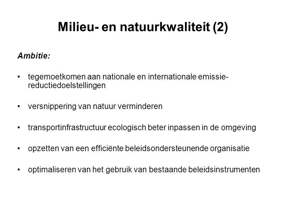 Milieu- en natuurkwaliteit (2)
