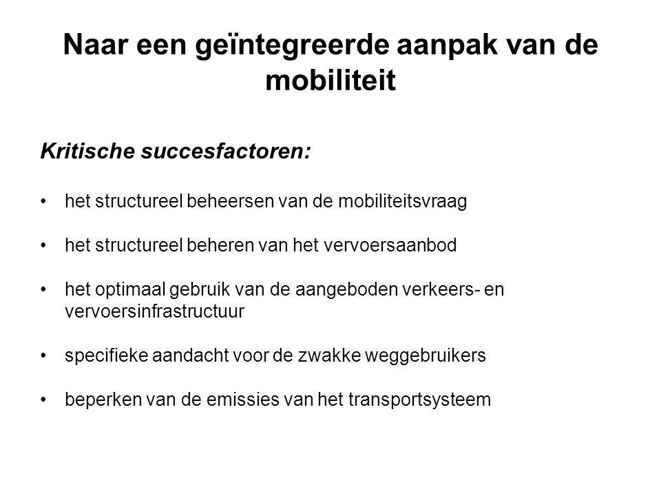 Naar een geïntegreerde aanpak van de mobiliteit