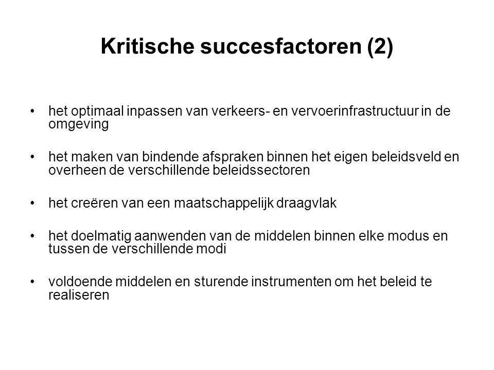 Kritische succesfactoren (2)