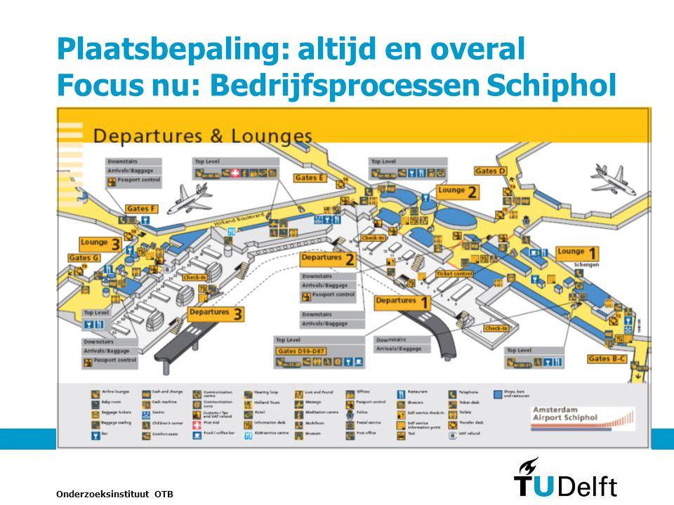 Plaatsbepaling: altijd en overal Focus nu: Bedrijfsprocessen Schiphol